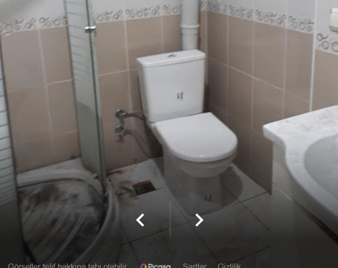 banyo  içindetıkalı süzgeç açılması